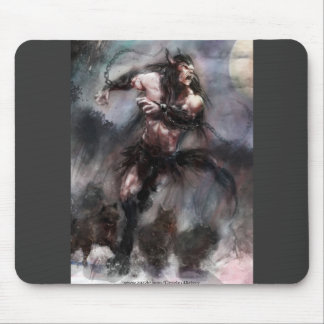 Loup Garou Leading A Pack To Freedom Mouse Pad