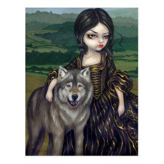 """""""Loup-Garou: Pastorale"""" Postcard"""