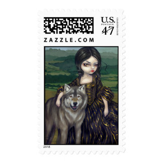 """""""Loup-Garou: Pastorale"""" Stamp"""