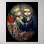 Loup-Garou: Vampiro del lobo de la IMPRESIÓN del A Poster