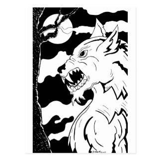 Loup Garou (Werewolf) Postcard