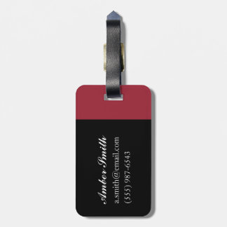 Loups 2001 luggage tag