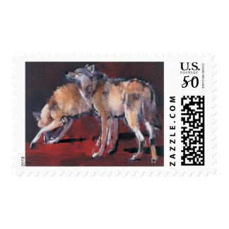 Loups 2001 postage