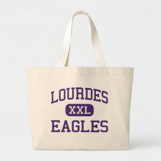 Lourdes - Eagles - High - Rochester Minnesota Tote Bags