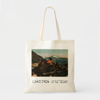 Lourdes Fort Chateau France postcard 1910 approx Tote Bag