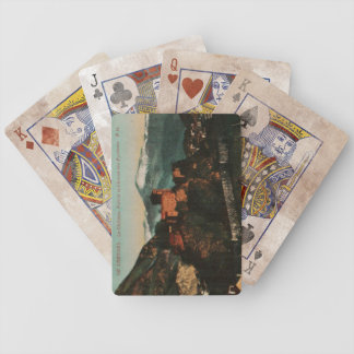 Lourdes Fort Chateau France postcard 1910 approx Bicycle Playing Cards