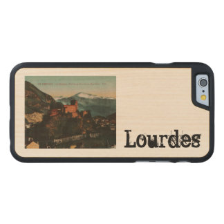 Lourdes Fort Chateau France postcard 1910 approx Carved Maple iPhone 6 Case