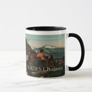 Lourdes Fort Chateau France postcard 1910 approx Mug