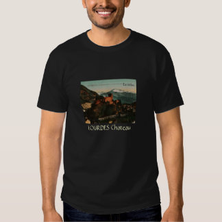 Lourdes Fort Chateau France postcard 1910 approx Shirt