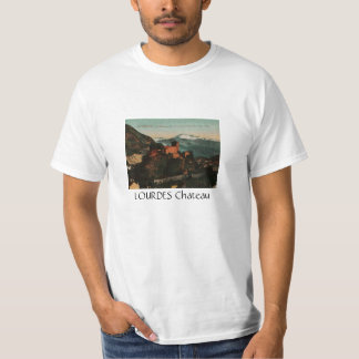Lourdes Fort Chateau France postcard 1910 approx Tee Shirt