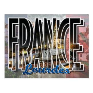 Lourdes, France Postcard