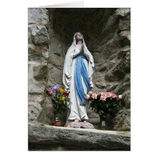 Lourdes Image Blank Card