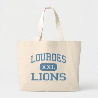 Lourdes - Lions - High School - Chicago Illinois Canvas Bag