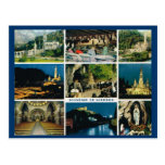 Lourdes, Multiview Postal