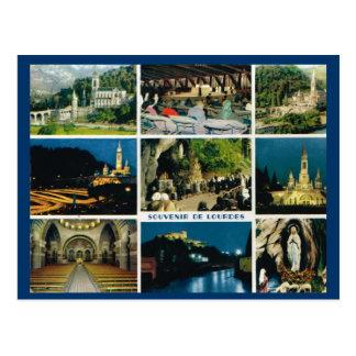 Lourdes, Multiview Postcard