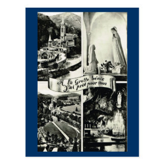 Lourdes, Multiview temprano 1910 Tarjetas Postales