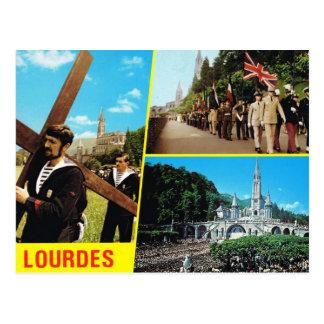 Lourdes, Servicemen on a pilgrimage Postcard