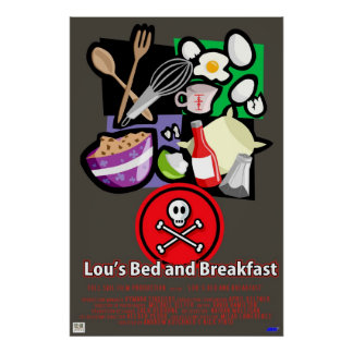 Lous Bed and Breakfast Print