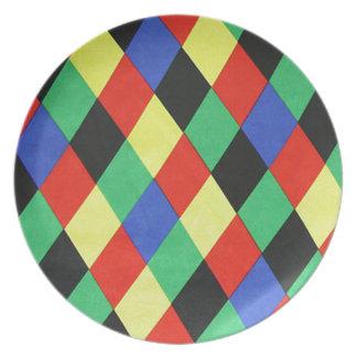 lousangulos de COM del padrão Platos De Comidas