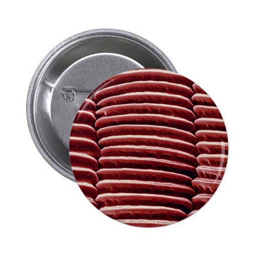 Louse - back leg 2 inch round button