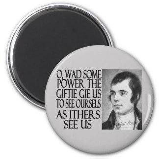 Louse Quote 2 Inch Round Magnet