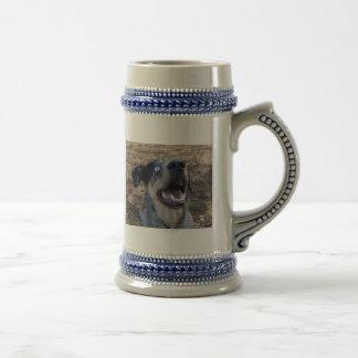 Lousiana Catahoula Leopard Dog 18 Oz Beer Stein