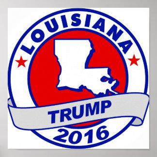 lousiana Donald Trump 2016.png Poster