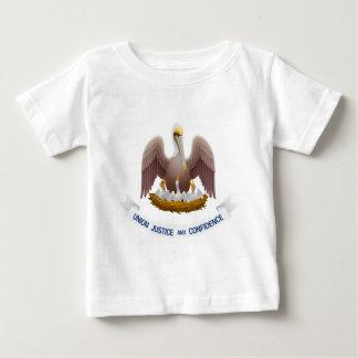 Lousiana Flag Theme 01 Baby T-Shirt