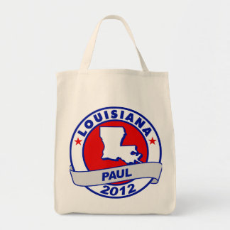 Lousiana Ron Paul Canvas Bag
