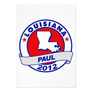 Lousiana Ron Paul Invitation