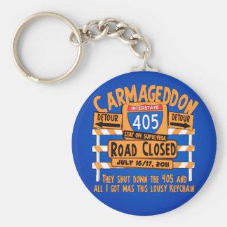 Lousy Carmageddon - 405 - Los Angeles Key Chains