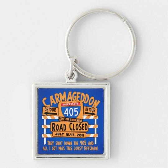 Lousy Carmageddon - 405 - Los Angeles Keychain