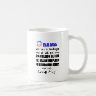 Lousy Obama Mug