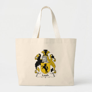 Louth Family Crest Jumbo Tote Bag
