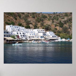 Loutro soñoliento, Grecia Póster