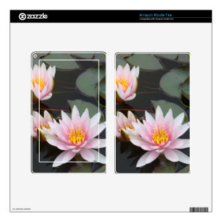 Louts Flower Kindle Fire Skins