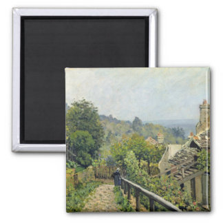 Louveciennes or, The Heights at Marly, 1873 2 Inch Square Magnet