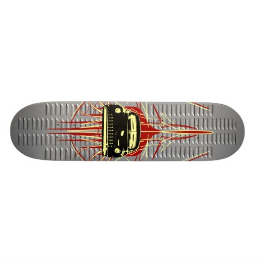 Louvered Lead Sled Skate Board