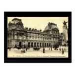 Louvre 1905, París del vintage, Francia Tarjetas Postales