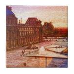 Louvre en París Francia por el mac de Shawna Azulejo Ceramica