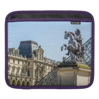 Louvre Horse Statue, Paris Travel Photograph Sleeve For iPads