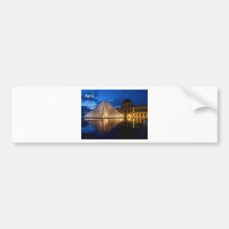 louvre-in-the-night-[kan.k].JPG Bumper Sticker