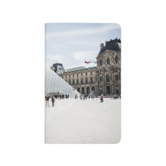 Louvre in white winter Paris Journal