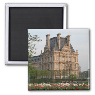 Louvre Museum 2 Inch Square Magnet