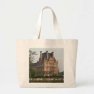 Louvre Museum Large Tote Bag