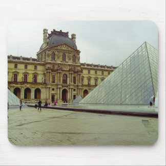 Louvre museum mouse pad