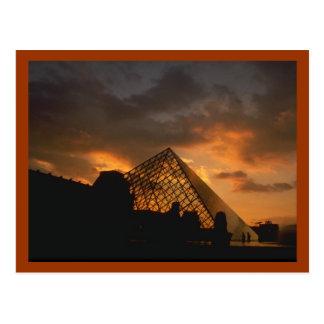 Louvre Museum Paris Postcard
