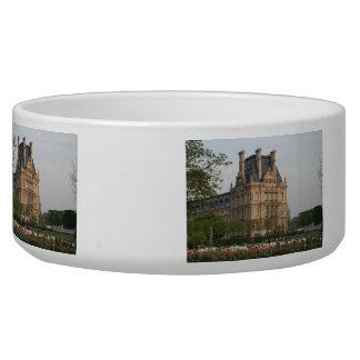 Louvre Museum Pet Bowl
