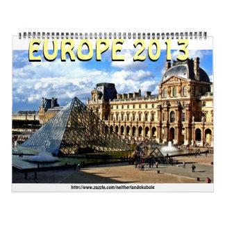 Louvre-museumEUROPE Mojisola 2013 un Okubule Calendario De Pared