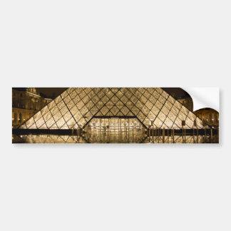 Louvre, Paris/France Bumper Sticker